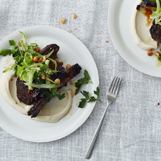 Roasted Short Ribs with Cauliflower and Celery
