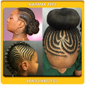 Braid Hairstyle for Black Girl icon
