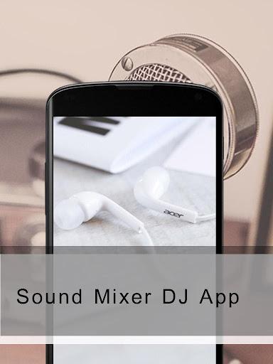 Sound Mixer DJ App
