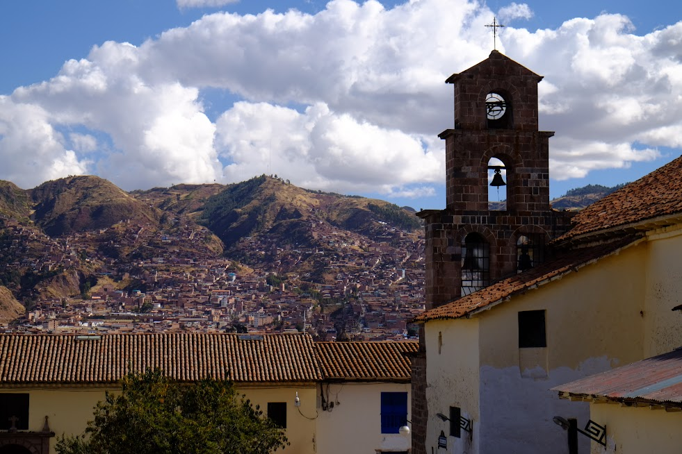 Widoki na Cusco
