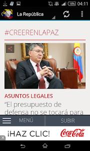 Noticias de Colombia screenshot 1