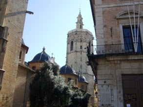 Photo: 10.03.09 Schnuppertour Valencia: El Micalet (Glockenturm der Kathedrale Valencias) (Urheberrecht M. Dorn)