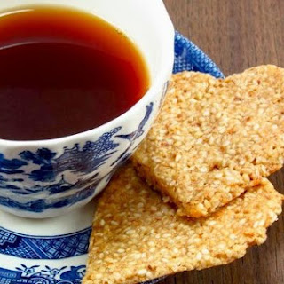 Honey Sesame Crisps-Eggless,Sugarless & Flourless