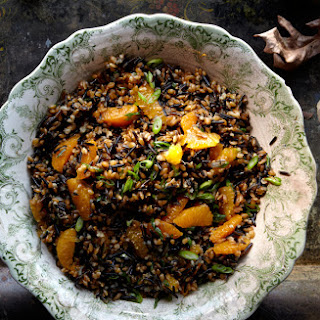 Wild Rice, Farro, and Tangerine Salad Recipe