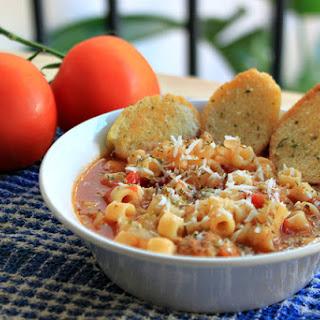 Ditalini Italian Soup for #SundaySupper