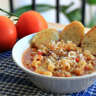 Ditalini Italian Soup for #SundaySupper.