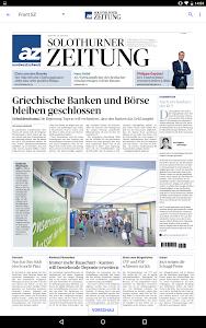az Solothurner Zeitung E-Paper screenshot 5