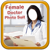 Female Doctor Photo Suit New