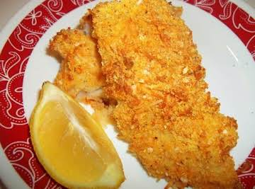 Delicious Oven Fried Cod