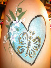 Photo: Body painting and art by Bella the Clown. Call to book Bella today at 888-750-7024