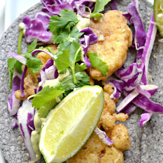 Beer-Battered Cauliflower Tacos