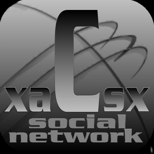 Social Network xaCsx 社交 App LOGO-硬是要APP