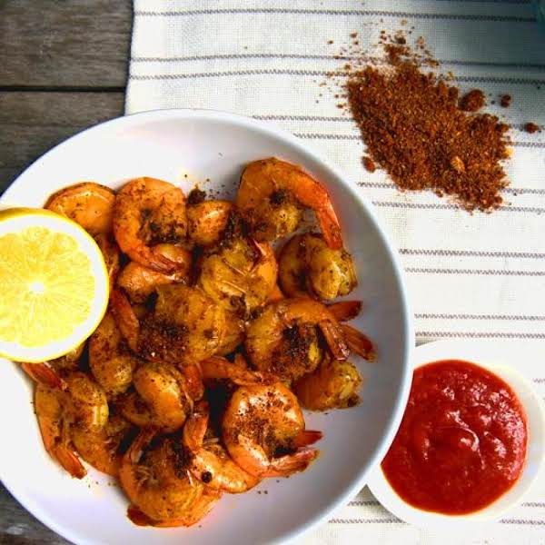 Grilled Shrimp With Baltimore Bay Spices, Garlic Recipe