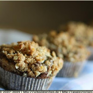 Blueberry Banana Streusel Muffins