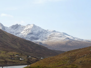 Photo: The famous Cuillins as seen from Braes road end