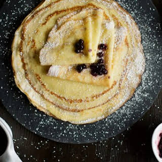 Easy French Blender Crepes.