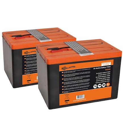 Duopack Alkaline batteri 2x 9V