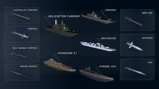 Code Triche Warship Simulator - Battle of Ships APK MOD screenshots 3