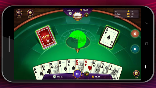Gin Online - Free Online Card Game 1.0.5 screenshots 5