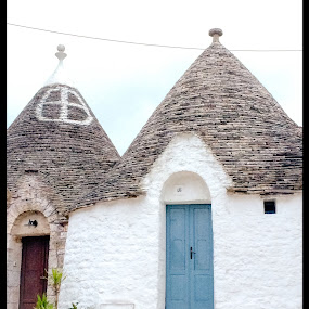Trullie home, Alberobello, Italy  by Ginny Serio - Instagram & Mobile iPhone (  )