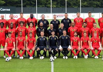 Voici la photo officielle des Diables Rouges pour le Mondial 2018