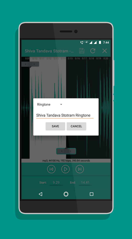 Ringtone Maker - Mp3 Cutter Screenshot 6