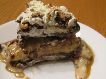 Banana Split Ice-cream Cake Recipe