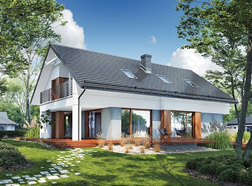 Dom z poddaszem użytkowym - koszty budowy