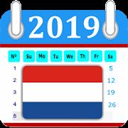 Netherlands 2019 Calendar-Holiday