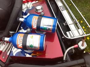 Photo: Nitrous Oxide, for the odd Honda Fireblade moment..