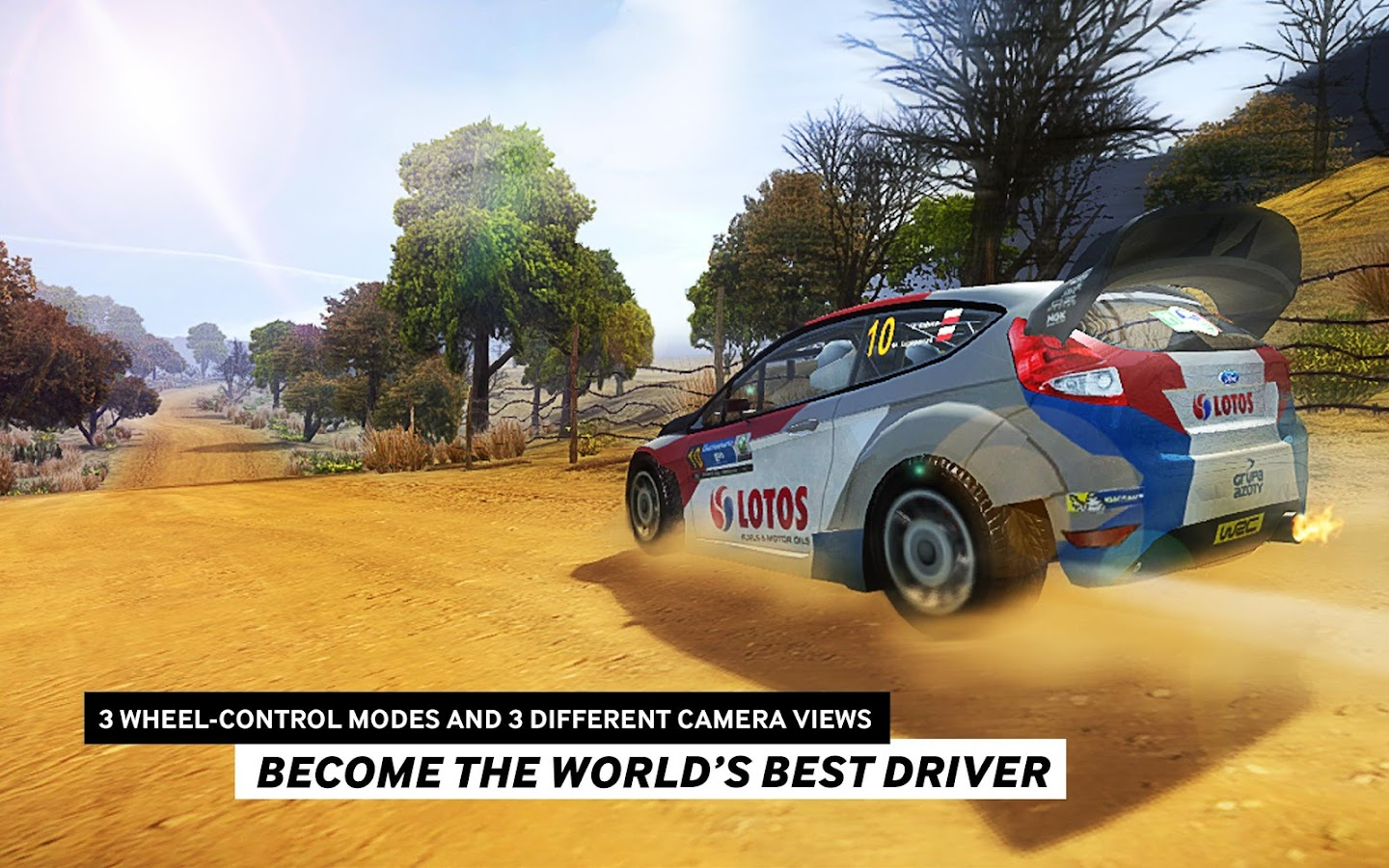 WRC The Official Game- screenshot