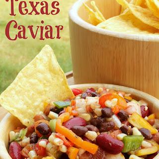 Texas Caviar Party Dip.