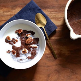 Teff Porridge with Pecans, Dates, and Honey.