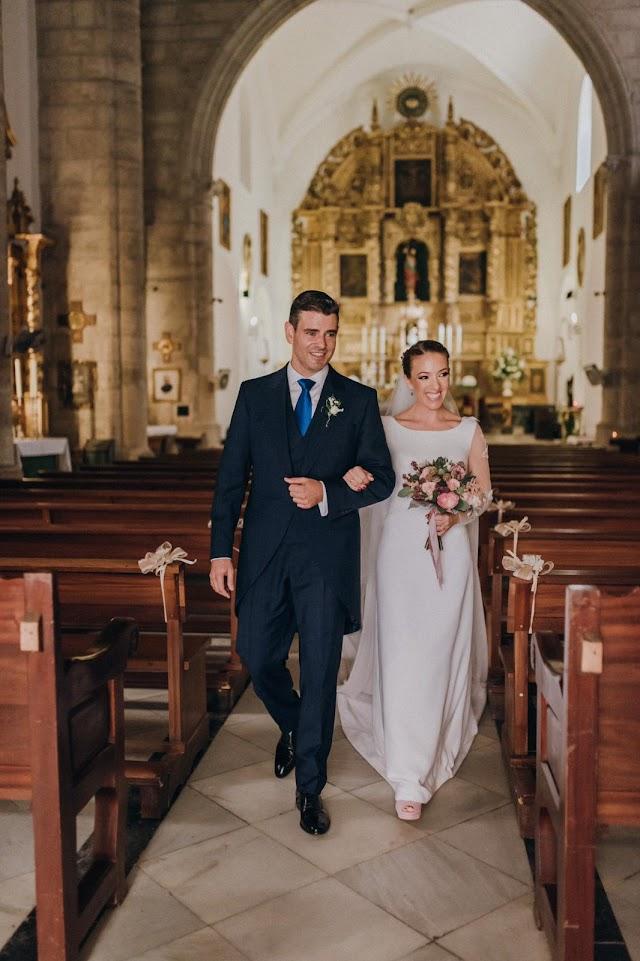 Juan Manuel y Concepción se casaron el pasado 27 de octubre.