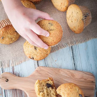 Banana Muffins With Sour Cream Chocolate Chips Recipes