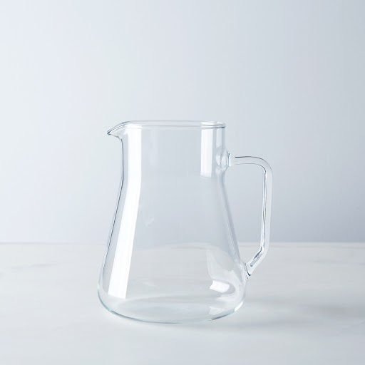 Flame-Proof Borosilicate Glass Small Pitcher