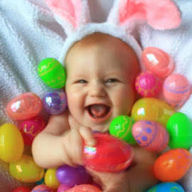 My 1st Easter by Sandy Darnstaedt - Public Holidays Easter (  )