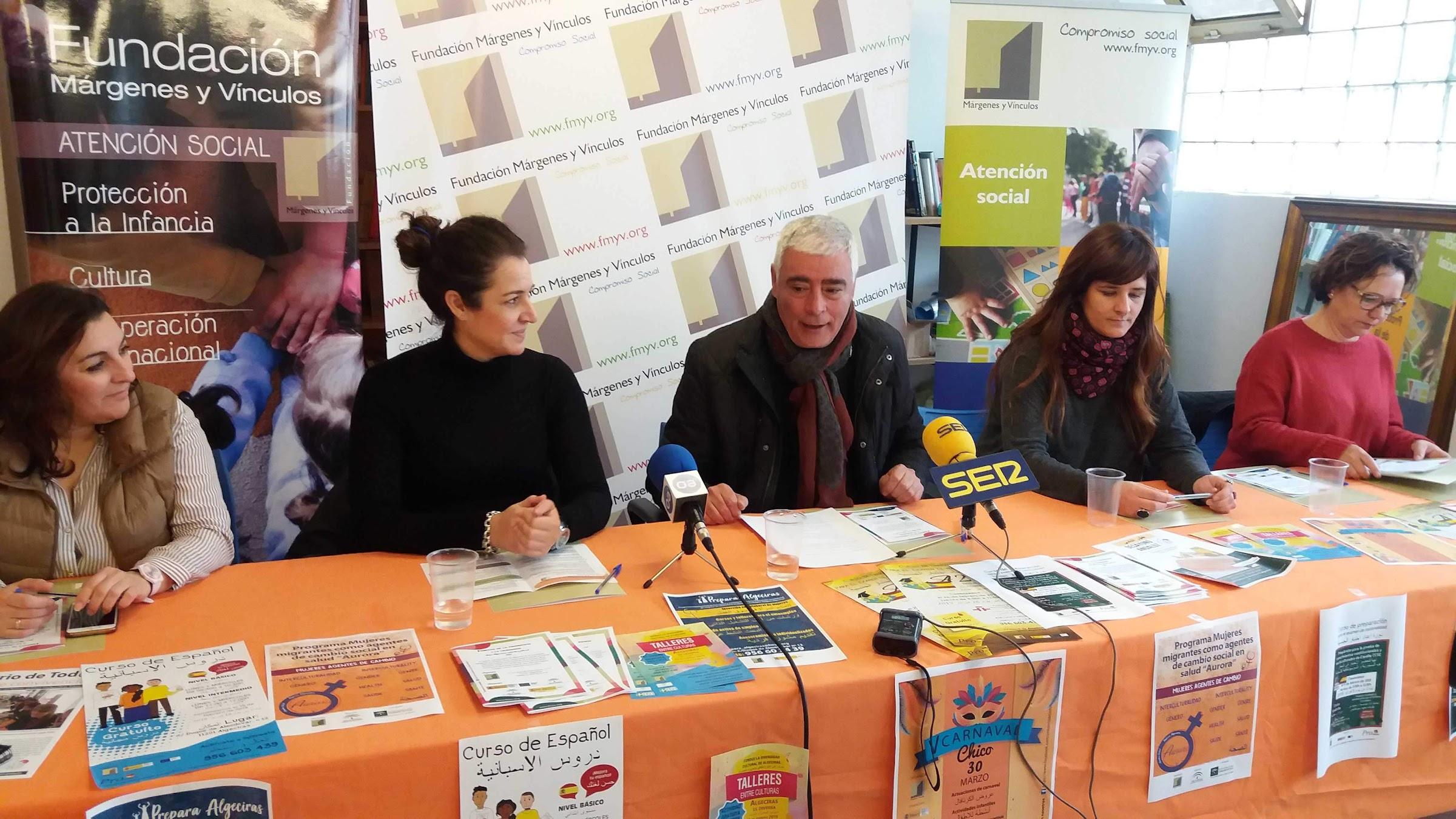 Presentados los proyectos de Márgenes y Vínculos para 2019