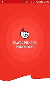 Kawal Pilkada Ponorogo screenshot