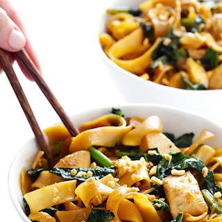 Pad See Ew (Thai Sweet Stir Fried Noodles).