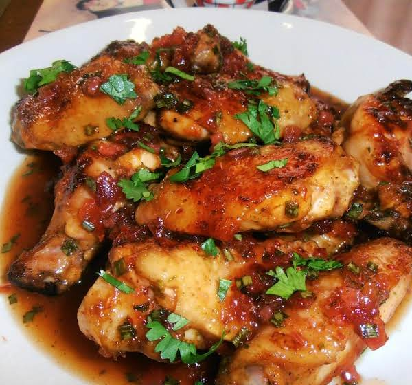 Kim B's Spicy Grilled Asian Jammin' Wings Recipe