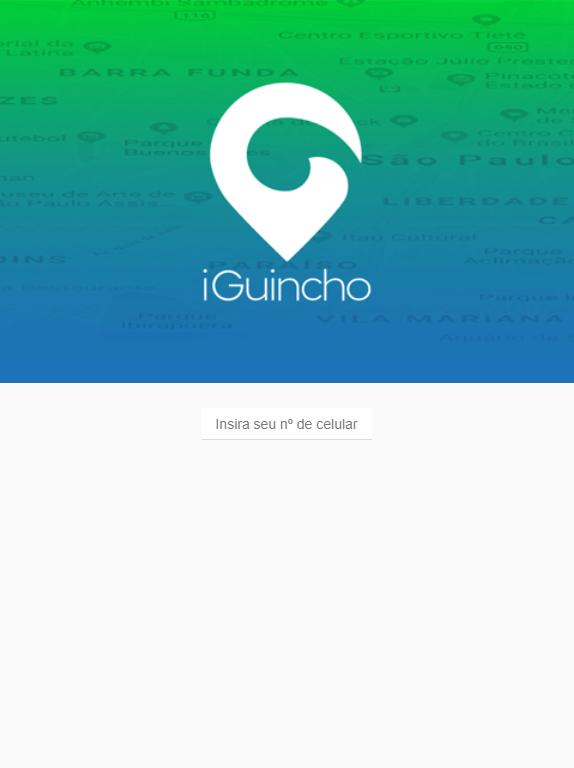 Скриншот iGuincho - Cliente