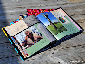 Photo: These are some books in which my photography is published.