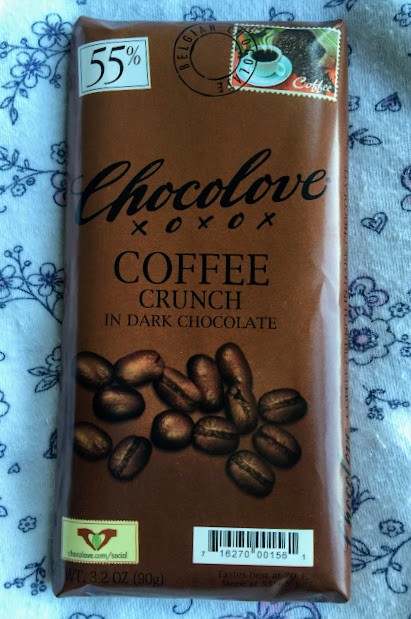 55% chocolove coffee bar