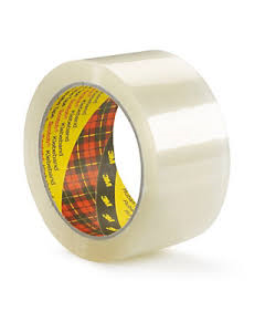 Packtejp Scotch 309 PP transparent, 38mm x 66m