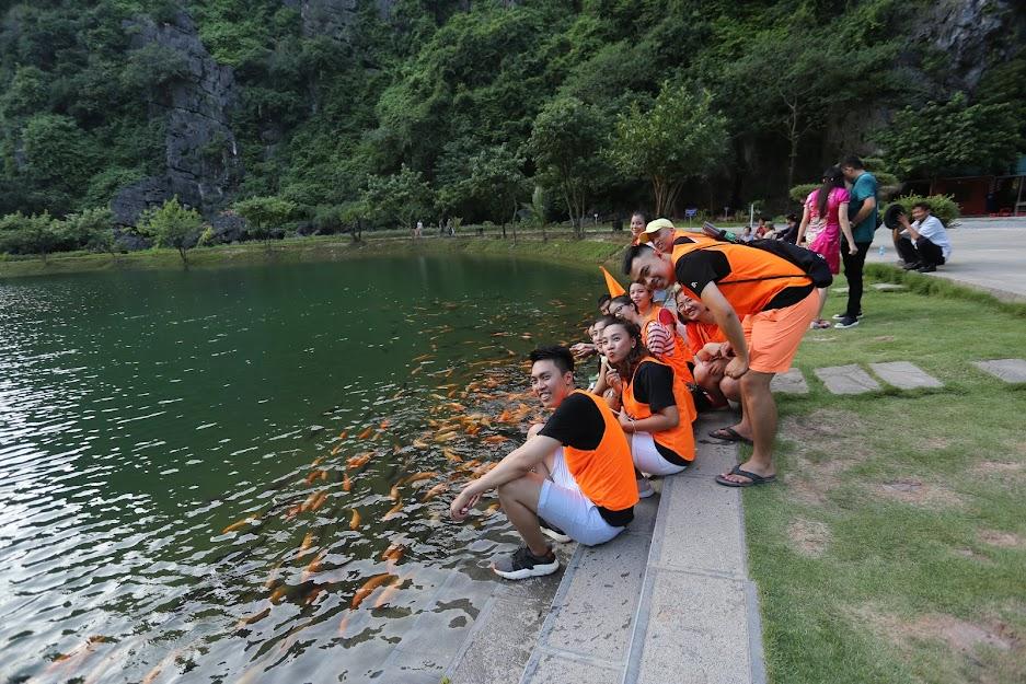 Team building Tràng An Ninh Bình
