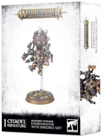 KHARADRON OVERLORDS: ENDRINMASTER IN DIRIGIBLE SUIT