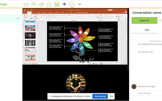 CloudSpace Screenshare