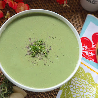 Spinach Leek Soup