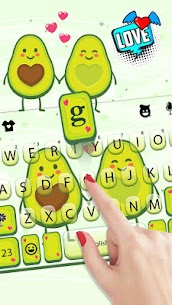 Avocado Love Keyboard Theme 1.0 Mod + Data for Android 2